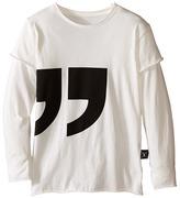 Nununu Super Soft Quotation T-Shirt (Infant/Toddler/Little Kids)