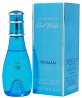 Davidoff Cool Water by Zino Eau de Toilette Women's Spray Perfume