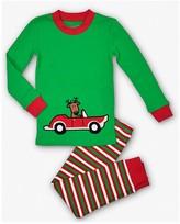 Sara's Prints Unisex Santa Claus Pajama Set - Little Kid