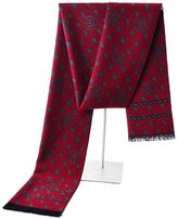 EOCEAN Men's Silk Scarf Business Fashion Scarf Autumn&Winter