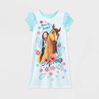 Girls' Spirit Riding Free 'Never Be Tamed' Dorm Nightgown -