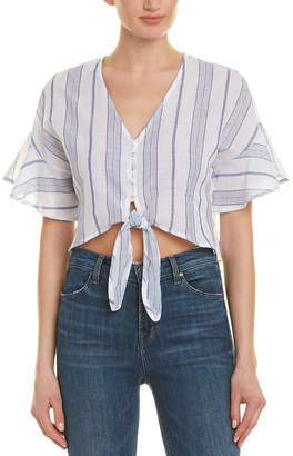 Moon River Tie-Front Top