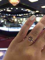 Etsy 14 Karat Rose Gold Diamond Round Brilliant Shape Morganite Under Halo Wedding Ring Engagement Ring P