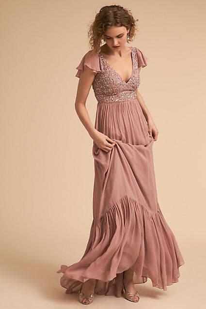 Anthropologie Daphne Wedding Guest Dress