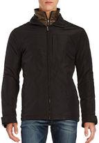 Weatherproof Zip Front Quilted Lining Jacket