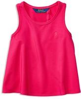 Ralph Lauren Girls' Solid Tank - Sizes 2-6X