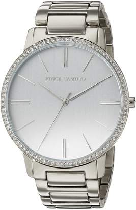 Vince Camuto Womens Analogue Classic Quartz Watch with Stainless Steel Strap VC/5329SVSV
