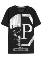 Philipp Plein Shio Skull-print Cotton T-shirt