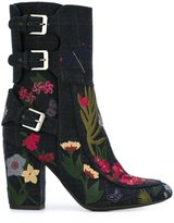 Laurence Dacade 'Merli' boots - women - Cotton/Leather/Wool - 37.5