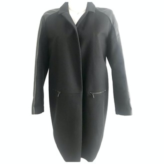 Porsche Design Black Wool Coat for Women