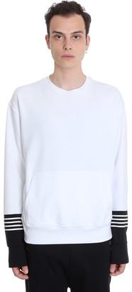 Neil Barrett Sweatshirt In White Cotton