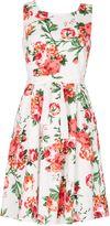 Izabel London Floral Print Skater Dress