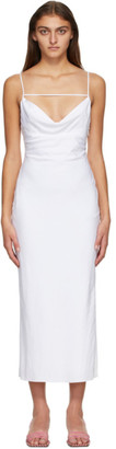 Jacquemus White La Robe Adour Dress