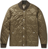 Burberry Quilted Shell Bomber Jacket