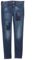 Joe's Jeans Joe&s Jeans Patchwork Skinny Jeans (Toddler & Little Girls)