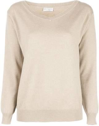 Brunello Cucinelli straight-fit cashmere pullover