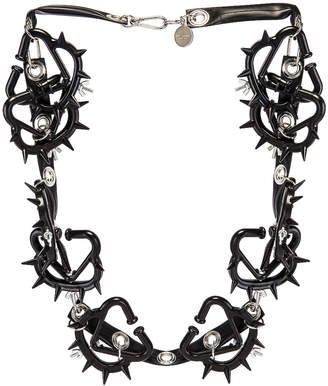 Comme des Garcons Necklace in Black | FWRD