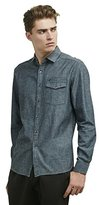 Kenneth Cole Reaction Men's Long-Sleeve Chambray Shirt