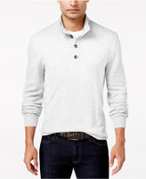 Club Room Men's Waffle Knit Thermal Mock Neck Shirt, Only at Macy's
