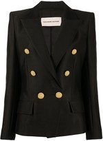 Alexandre Vauthier double breasted structured blazer
