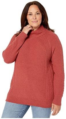 Aventura Clothing Plus Size Willa Sweater (Cardinal) Women's Sweater