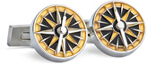 Robert Graham Gold & Silver Due South Cuff Links