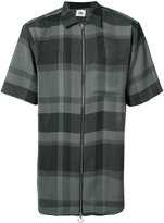 Chapter plaid shirt - men - Polyester/Rayon - S