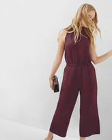 Ted Baker High neck cropped jumpsuit