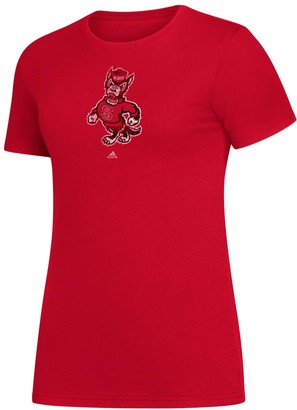 adidas Women's North Carolina State Wolfpack Amplifier Tee