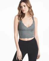 White House Black Market Cropped Lace Cami