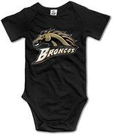 LopenD Western Michigan Broncos Geek Short Sleeves Variety Baby Onesies Bodysuit For Babies Size 6 M