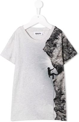 Molo 'Climber' print T-shirt