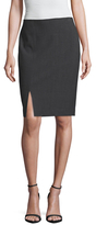 T Tahari Linda Split Pencil Skirt