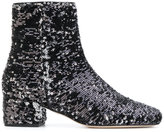 Chiara Ferragni Candy Street boots - women - Leather/Sequin - 35