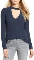 LnA Women's Bardot Cutout Sweater