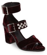 Rebecca Minkoff Women's Jennifer Studded Ankle Cuff Sandal