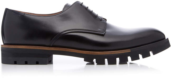 Bally Barnis Leather Derby Shoes