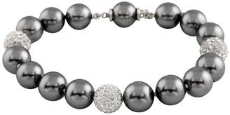 Splendid Pearls Fancy 10-11mm Shell Pearl Bracelet