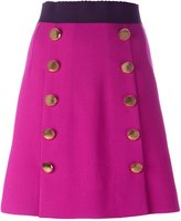 Dolce & Gabbana buttoned mini skirt