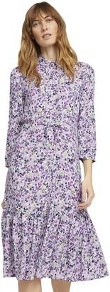 Tom Tailor Women's 1025324 Print Dress