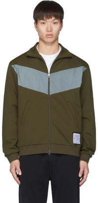 Satisfy Green Spacer Tracksuit Jacket