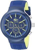 Lacoste Men's 2010797 Borneo Blue Chronograph Watch