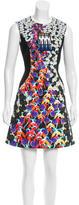 Peter Pilotto Digital Print A-Line Dress