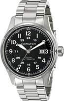 Hamilton Men's H70625133 Khaki Officer Dial Watch
