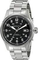 Hamilton Men's H70625133 Khaki Officer Dial Watch