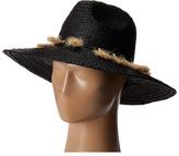 Michael Stars Mytros Tassel Wide Brim Hat Caps