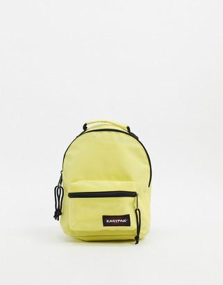 Eastpak Orbit mini backpack in yellow