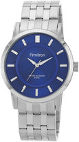 JCPenney Armitron All Sport Mens Silver-Tone Sunray Watch