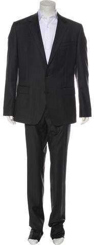 Dolce & Gabbana Wool Striped Suit