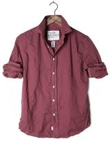 Frank And Eileen Mens Paul Lightweight Microcheck Flannel Shirt